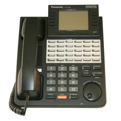 Panasonic Kx T7436 Phone 24 Buttons Speakerphone 6 Line Lcd
