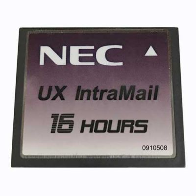 NEC UX5000 CompactFlash IntraMail 4-Port 16-Hours (0910508)