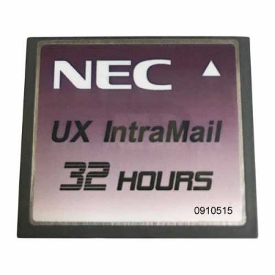 NEC UX5000 CompactFlash IntraMail 4-Port 32-Hours (0910515)