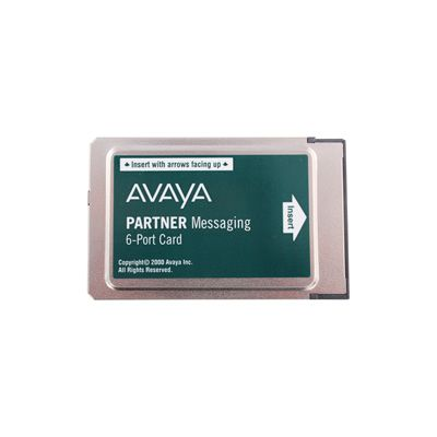 Avaya Merlin Messaging Card - 6 Port (108491374) (Refurbished)