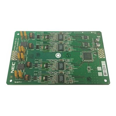 NEC DSX-40 4-Port (4COIU) Line PCB with Caller ID Card (1091001)
