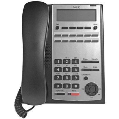 NEC SL1100 12-Button Digital Telephone (Black) (1100061) (Refurbished)