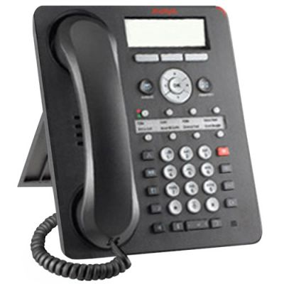 Avaya 1608-I IP Telephone, 8-Lines, Display, Speaker (700458532) (Refurbished)