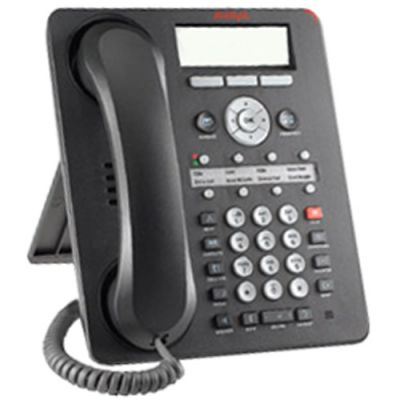 Avaya 1608 IP Telephone, 8-Lines, Display, Speaker (700415557) (Refurbished)
