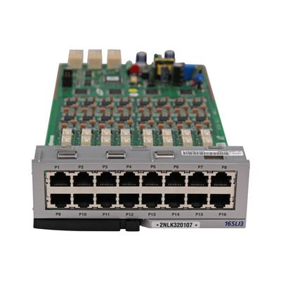 Samsung 16-Port SLI with Message Waiting Card (OS7400BSL3/XAR) (Refurbished: $280.00 / New: $470.00)