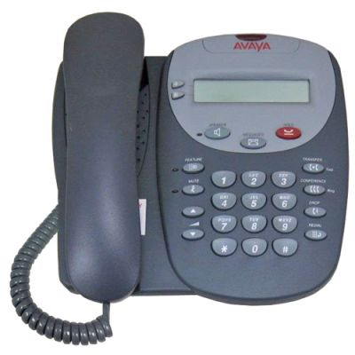 Avaya 2402 Digital Phone, 2-Buttons, Display (2402) (Refurbished)