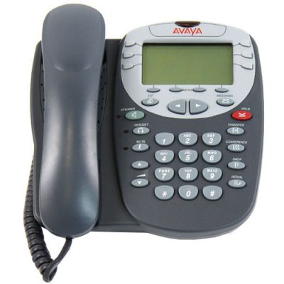 Avaya 2410 Digital Phone, 12-Buttons, Display (2410) (Refurbished)
