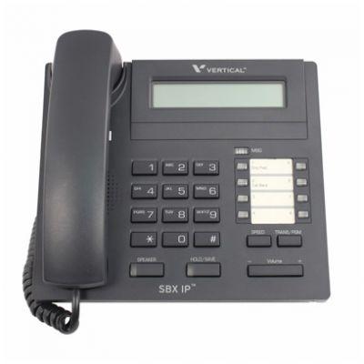 Vertical SBX 8-Button Digital Phone, 2-Line Display (4008-00) (Refurbished)