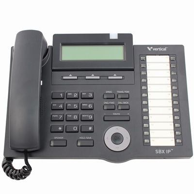 Vertical SBX IP 24-Button Digital Phone, 3-Line Display (4024-00) (Refurbished)