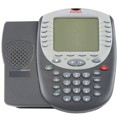 Avaya 4622SW IP Telephone w/24-Buttons, Large Backlit Display (4622SW) (Refurbished)