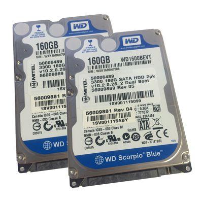 Mitel 3300 160GB SATA HDD Hard Drives - 2 Pack (50006489) (Refurbished)