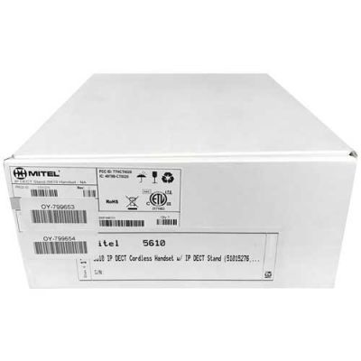 Mitel 5610 IP DECT Cordless Handset and IP DECT Stand Bundle (51015276)
