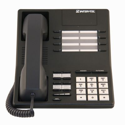 Inter-Tel 520.4300 Telephone, 12-Buttons, Speaker (Refurbished)
