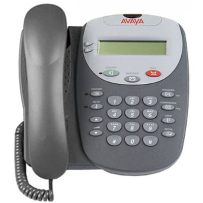 Avaya 5402 Digital Phone, w/2-Buttons, Display (5402) (Refurbished)