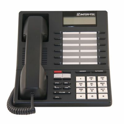 Inter-Tel Axxess 550.4000 Telephone, 12-Buttons, 1-Line Display, Speaker (Refurbished)