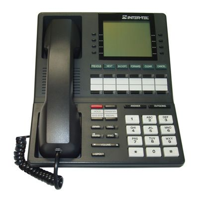 Inter-Tel Axxess 550.4100 Telephone, 12-Buttons, Speaker, 6-Line Large Display (Refurbished)