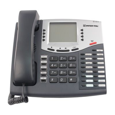 Inter-Tel Axxess 550.8560 Digital Telephone, 6-Line Executive Display (Refurbished)