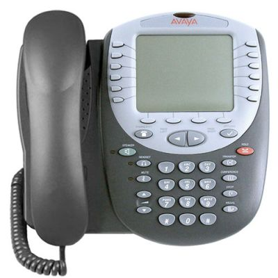 Avaya 5621SW IP Telephone with 24-Buttons, Large Backlit Display  (5621SW) (Refurbished)