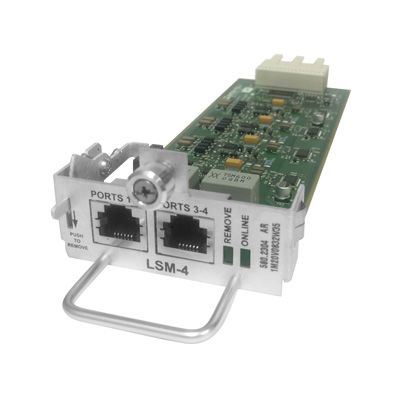 Inter-Tel 5000 4-Port Loop Start Module (LSM-4) (580.2304 ) (Refurbished)