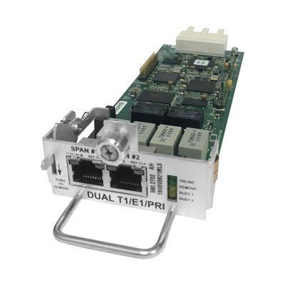 Inter-Tel 5000 Dual T1/E1/PRI Expansion Module (T1M-2) (580.2702) (Refurbished)