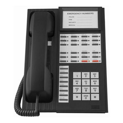 Inter-Tel GLX+ 612.4300 Telephone with 6-Lines & Speakerphone (Refurbished)