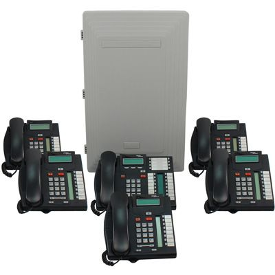 Norstar 616 DS/DR5 Key Service Unit with 6 Phones (Refurbished)