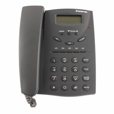 Inter-Tel ECX 100 Analog Phone, 2-Line Display (618.5011) (Refurbished)