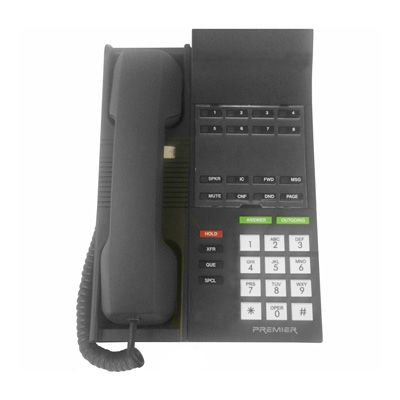 Inter-Tel IMX/ESP 660.7500 Telephone with 8-Buttons, Non-Display (Refurbished)