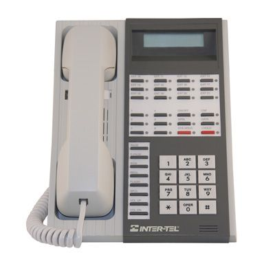 Inter-Tel GMX 662.3901 Telephone, 12-Lines, Display, Speakerphone (Refurbished)