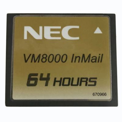 NEC Univerge SV8100 Compact Flash Media 1Gig for InMail 64 Hours of Storage (670966)