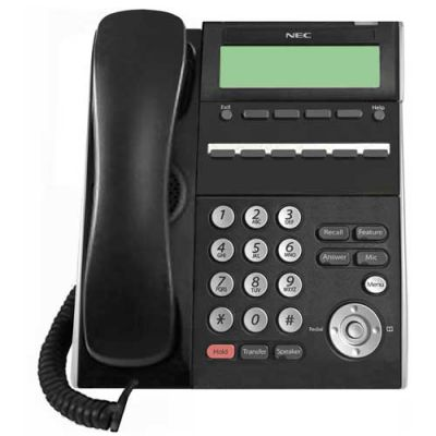 NEC ITL-6DE-1 6-Button Display IP Phone (690001) (DT710-6DE) (Refurbished)