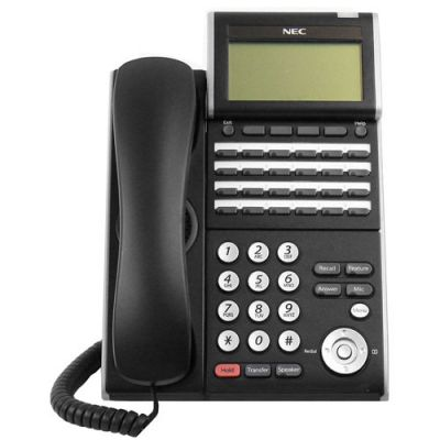 NEC ITL-24D-1 24-Button Display IP Phone (690004) (DT730-24D) (Refurbished)