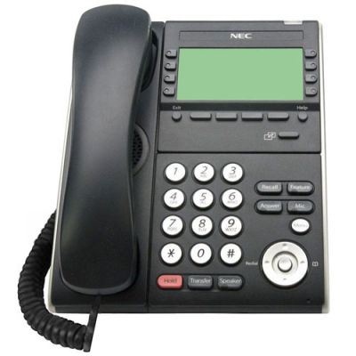 NEC ITL-8LDE-1 8-Button Desi-Less Display IP Phone (690071) (DT710-8LDE) (Refurbished)
