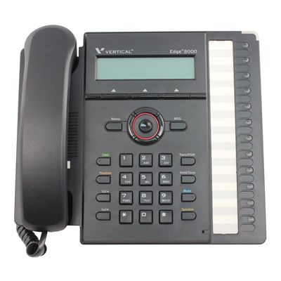 Vertical Edge 8000 12-Button IP Phone (8012-00) (Refurbished)