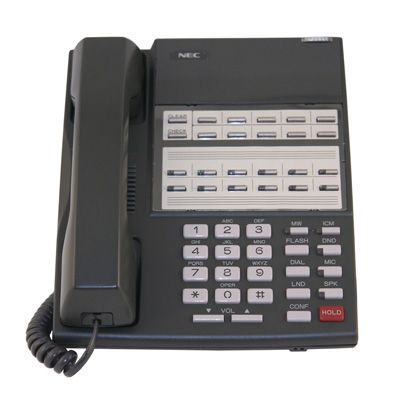 NEC 80570 Telephone with 22-Buttons, Speakerphone, Non-Display (Refurbished)