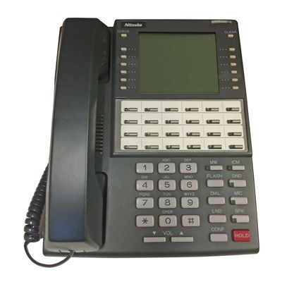 NEC 80673 Telephone with 34-Buttons, Large Display, Speakerphone (Refurbished)