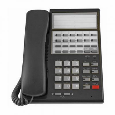 Nitsuko Portrait 82470 Telephone, 22 Buttons, Non-Display (Refurbished)