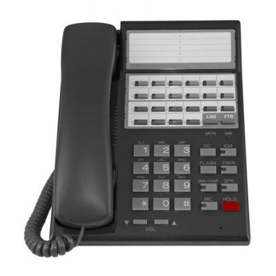 Nitsuko Portrait 82471 Telephone, 22-Buttons, BLF Keys, Non-Display (Refurbished)