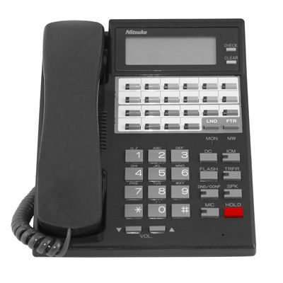 Nitsuko Portrait 82473 Telephone, 22-Buttons, Display, Speakerphone (Refurbished)