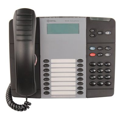 Mitel 8528 Telephone, 16-Programmable Buttons, 2-Line Display (50006122)