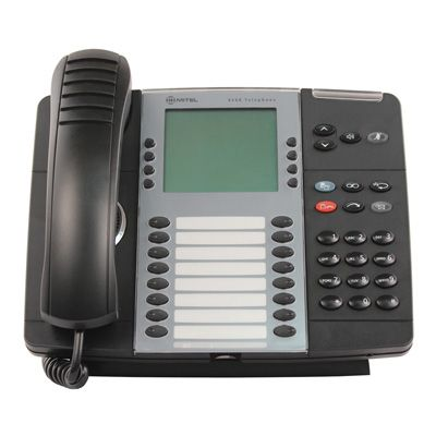 Mitel 8568 Telephone, 16-Programmable Buttons, 6-Line Display (50006123)