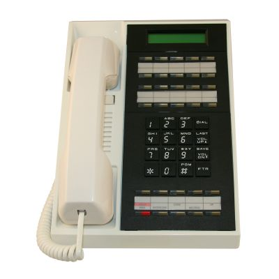 Nitsuko 88264 Telephone, 30-Buttons, Display, Speakerphone (Refurbished)