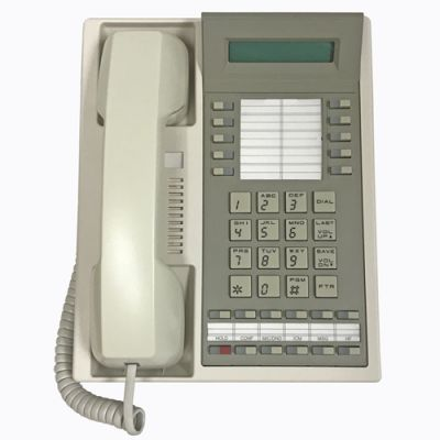 Nitsuko 88663 Telephone, 16-Buttons, Display, Speakerphone (Refurbished)