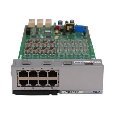 Samsung 8-Port Analog Single Line Interface Card (8SLI2) (KPOSDB8S2) (Refurbished: $198.00 / New: $330.00)