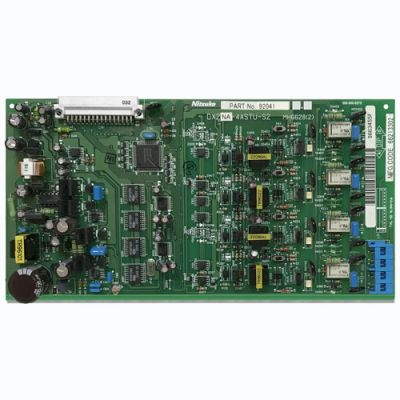 NEC/Nitsuko 4ASTU 4-PORT Analog Station Card w/MSG (92041) (Refurbished)