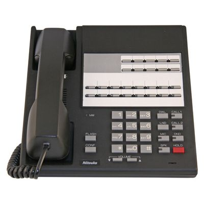 NEC/Nitsuko 92570 Telephone, 16-Buttons, Non-Display (Refurbished)