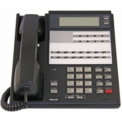 NEC/Nitsuko 92573 Telephone, 16-Buttons, Display (Refurbished)