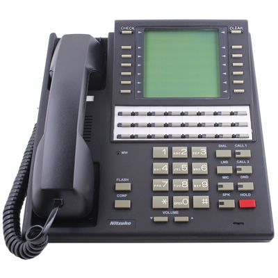 NEC/Nitsuko 92663 Telephone, 24-Buttons, Large Display (Refurbished)