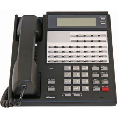 NEC/Nitsuko 92673 Telephone, 32-Buttons, Display (Refurbished)