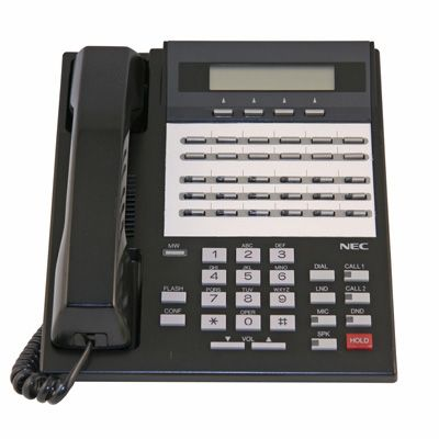 NEC/Nitsuko i-Series 92763 Telephone with 28 Buttons, Display (Refurbished)